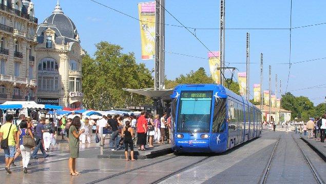 Montpellier Tram Line Montpellier Tram.jpg